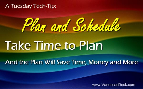 Vanessa's Desk Tuesday Tech Tip