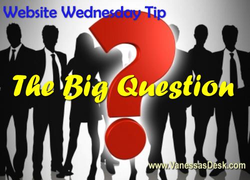 Wednesday Website Tips