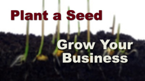 Plant a Seed, Grow Your Business